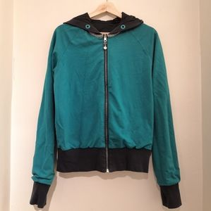 *LULULEMON* Reversible Slate/Teal Jacket